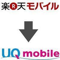 楽天モバイルからUQモバイルへ