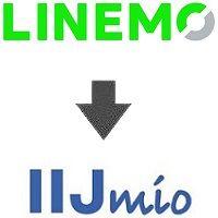 LINEMOからIIJmio